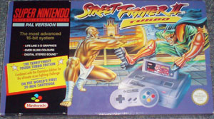SFIIT SNES Set